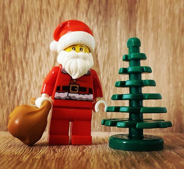 klocki lego na święta